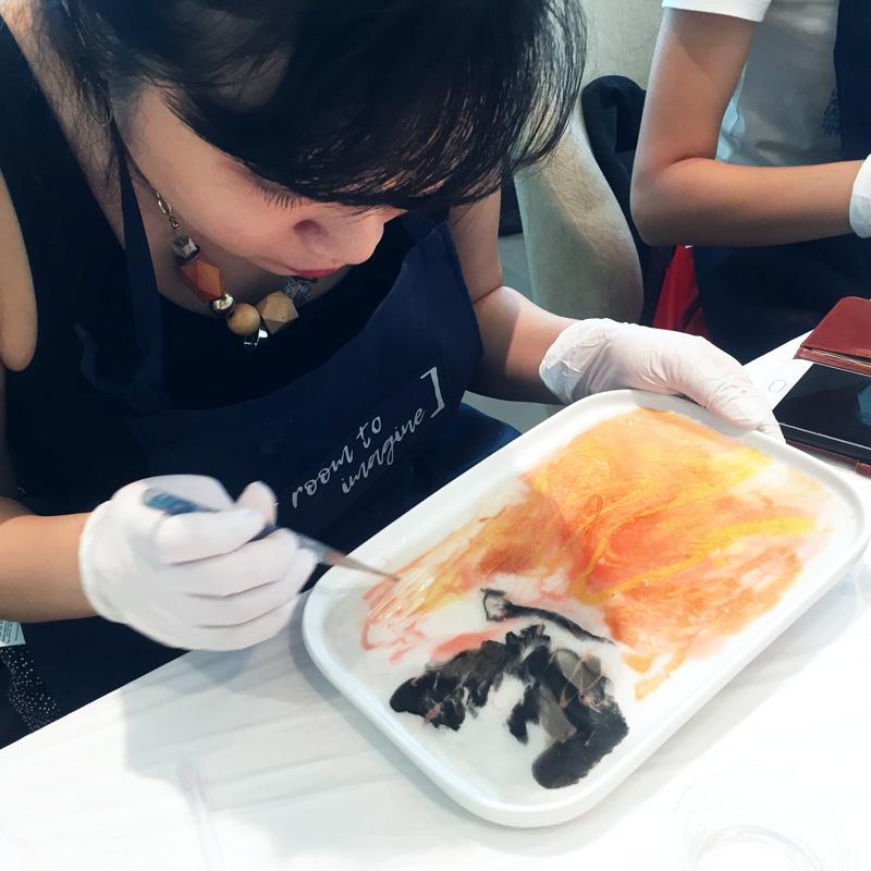 Resin Art Platter Workshop