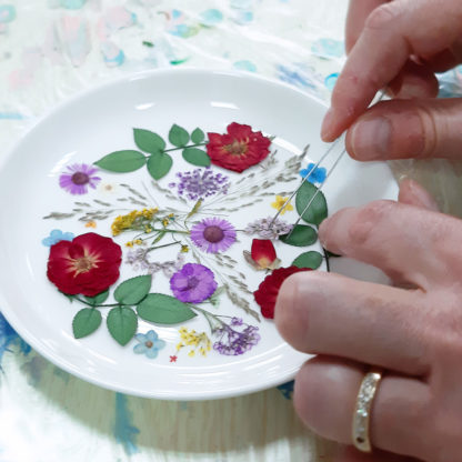 Room To Imagine - Botanical Luxe Resin Dish Workshop